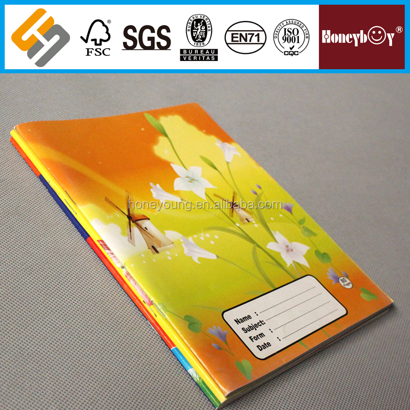 A4/A5/A6/B5 school & office stationary copy book