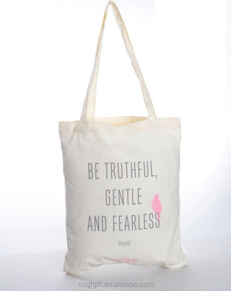 Wholesale customized cotton canvas tote bag cotton bag promotion recycle organic cotton tote bags