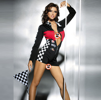 beautyslove sexy Sportswear racing suits costume for hot women