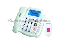 2014 clever function emergency SOS phone,round keypad phone, caller number phone