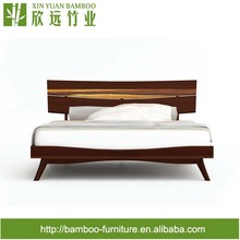 Azara Queen/King Size Platform Bed Modern Bamboo Furniture Simple European Style Bamboo bed