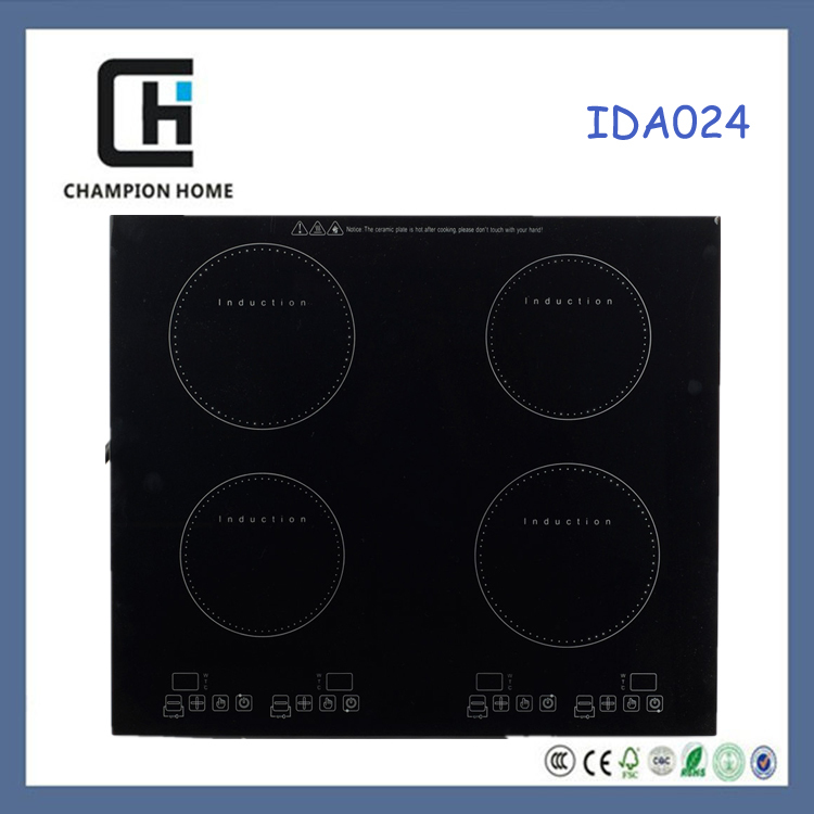 CE approval high quality kitchen appliances 4 digital LED display intelligent induction cooker with low price