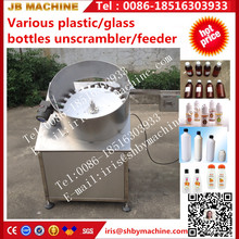 Automatic PET bottle unscrambler/bottle sorting machine in Shanghai