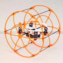 Newest Propel Nano UFO toys and hobbies NH-002 MINI drone Flying climbing RC Ball Quadcopter Frame Kit for sale