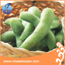 Wholesale high quality china delicious cheap frozen green soybean