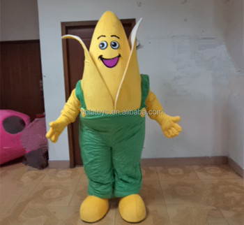 Plant costume/corn cosplay costume/ funny costume