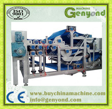Small Efficient vertical automatic laboratory belt filter press with advanced design