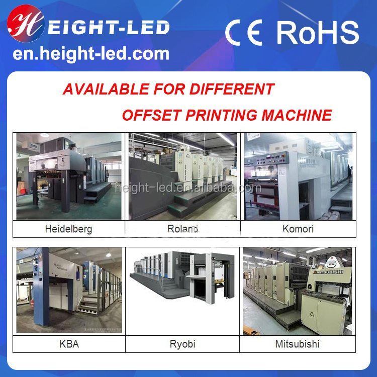HTLD High intensity 395nm UV LED Curing system for printing machine