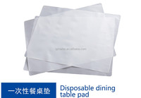 PE EVA Glue Film Pearl Paper used in dispasable dining table pad