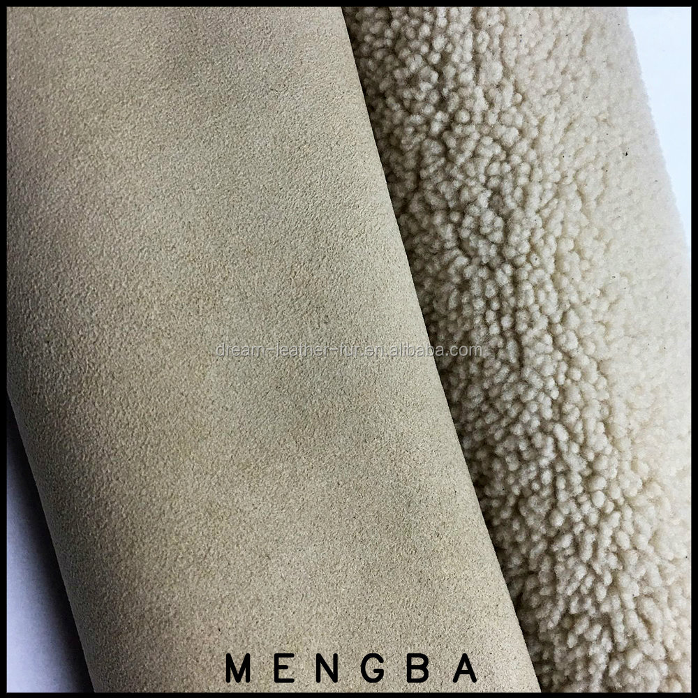 super soft double face sheep skin fur for garment use