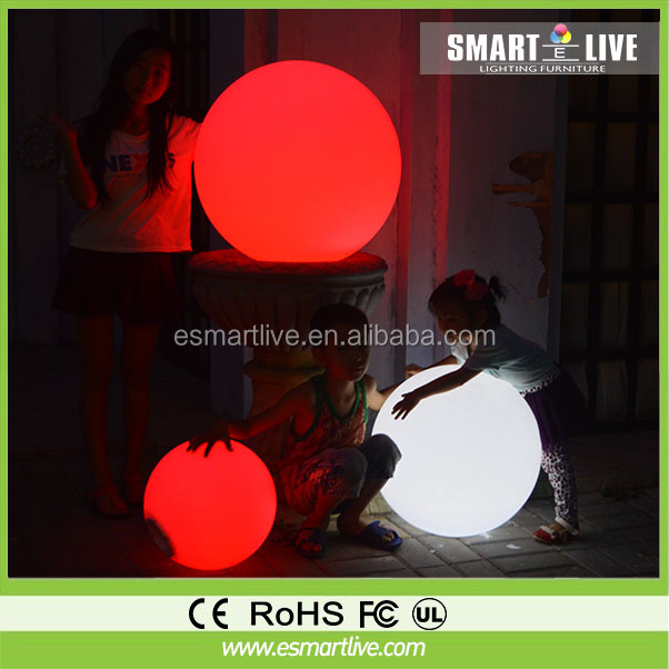 Color Changing Light Orb RGB Led Ball 8 Inch