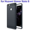 Carbon Fiber TPU Rugged Protective Case for Huawei Honor Note 8 Back Cover