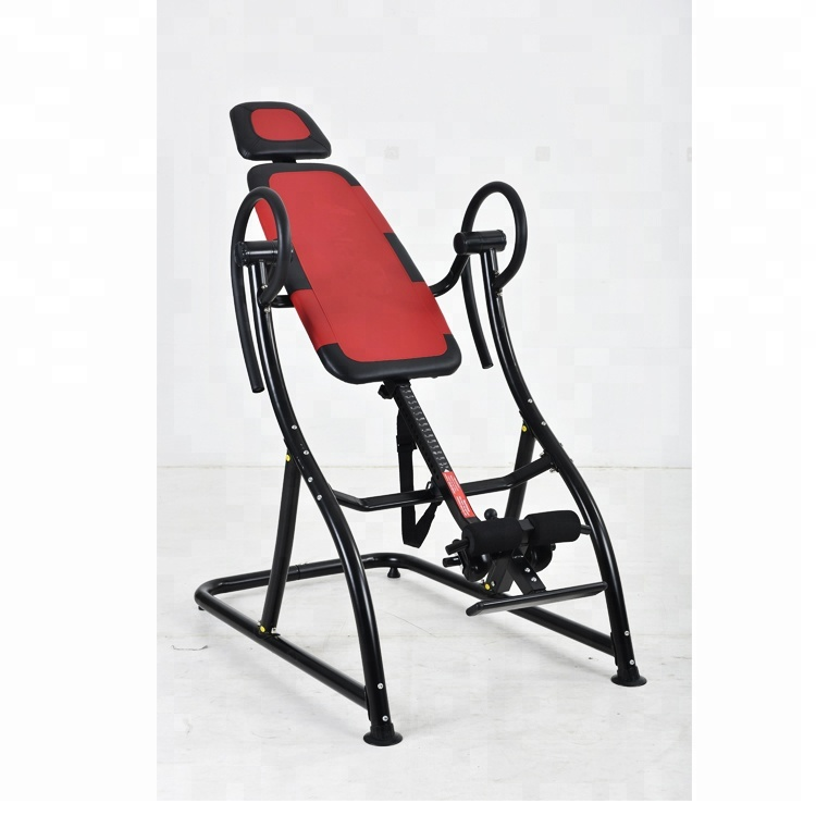 hot selling fold away inversion table super gym equipment back pain relief