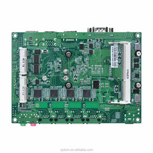 WIntel Chipset ITX motherboard Support Win 10 linux ubuntu processors With 4LAN PORT