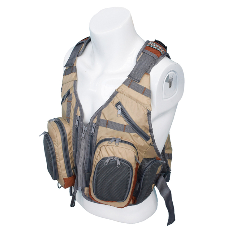 Unisex Fly <strong>Fishing</strong> Pack with Multi Pockets