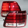 Land Cruiser LC100 4700 FJ100 LED Tail Lamp 1998-2007 Year Red White Color LF