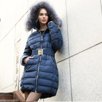 Lady's Top 10 Winter Down Jacket / 2016 Hot Sale European Style Down Jackets