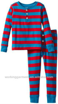 Stripe pajamas blanks