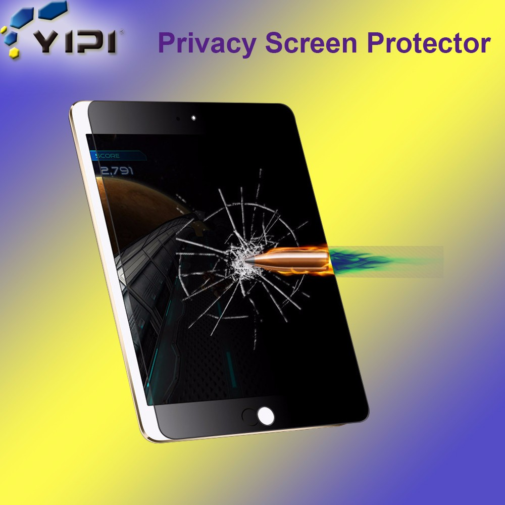 Mobile Phone Accessories Privacy Tempered Glass Screen Protector For Ipad Air, Factory Supplier Tablet Privacy Film!