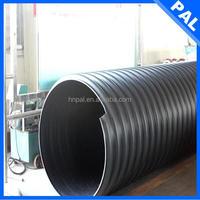 HDPE anti-scaling 6 inch corrugated drain pipe
