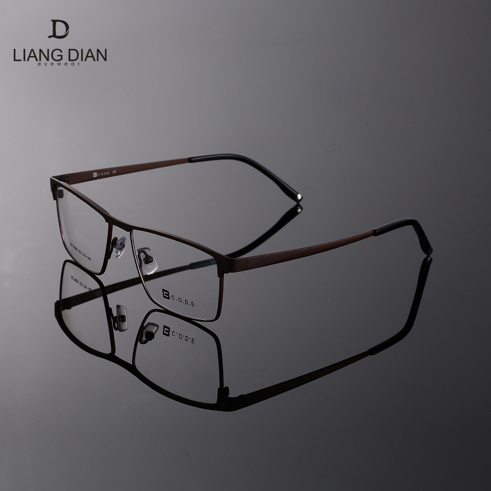 Wholesale metal titanium rimless optical eyeglass frames