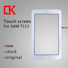 Replacement Original new Tablet Parts for samsung tablet t111 t110 Touch Screen Digitizer Glass Panel