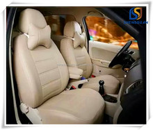Hot sale 2 layer leather &cotton padded leather car seat covers