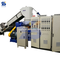 Single screw PE PP ABS, PS, EPS plastic granulator machine with high quality