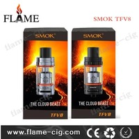 New Arrival!!! Hot Selling Smoktech Cloud Beast Tank 5.5ml/6ml Top Filling Airflow Control black/silver Smok TFV8