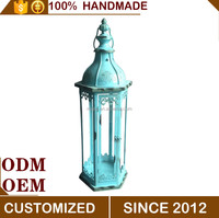 Metal Home Garden Candle Lantern ,Chinese Candle Holder