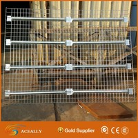 For pallet racking galvanized iron welded wire mesh deck