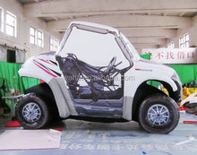 Lively waha customized inflatable car for exhibition