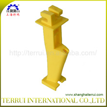 Yellow Nail-on Extender Insulator
