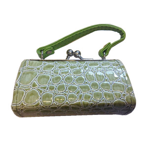 NEW TINY PURSE LIPSTICK CASE FASHION CROCO LEATHER COIN PURSE