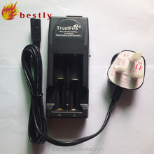 lithium ion battery charger3.7v Trustfire CE&ROHS TR-001 li-ion battery charger aa aaa charger