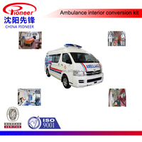toyota hiace ambulance interior metal parts cabinet
