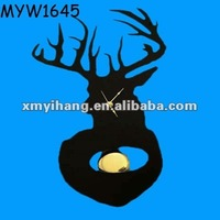Black clock function Resin Antlers Wholesale