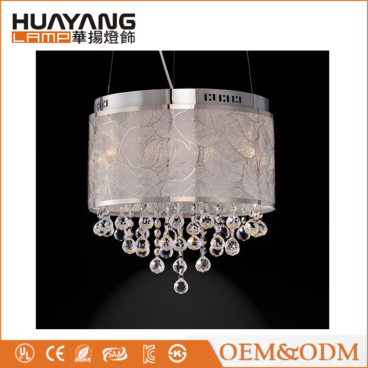 US Home 9016 decorative dining light modern crystal pendant lamp
