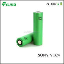 100%Authentic 18650 Vtc4,Us 18650 Vtc4 High Drain Battery 18650 2100mah li ion rechargeable battery(high Power Cell 30a)