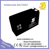12V 7ah rechargeable lead acid agm battery manufacturer