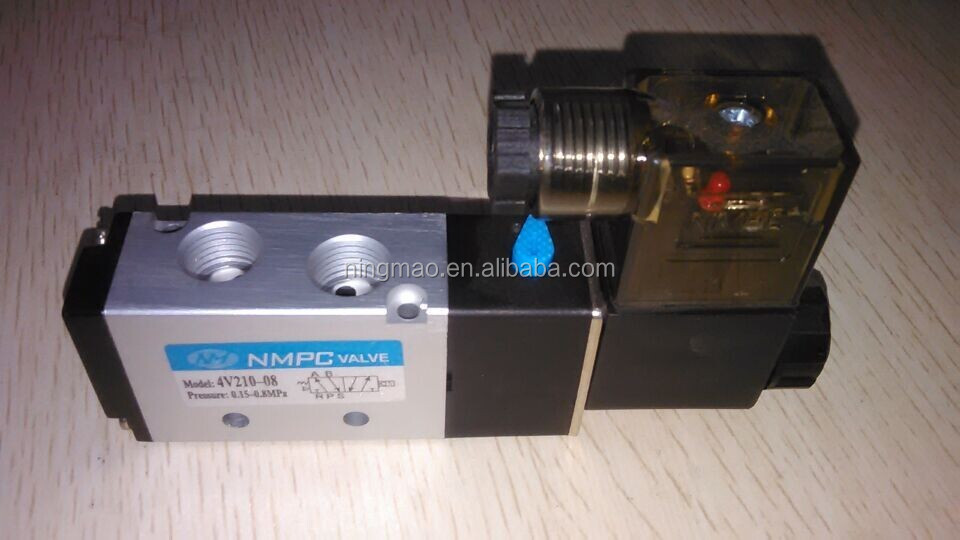 3v210-08 solenoid electronic air valve directional switch
