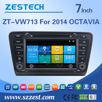 for skoda octavia autoradio with dvd gps navigation hot sale in 2016
