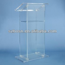Acrylic Lecture Stand, Acrylic Poidum, Perspex Podium