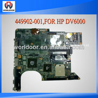Hot Sell 100%Working For Hp DV6000 Laptop Motherboard 449902-001