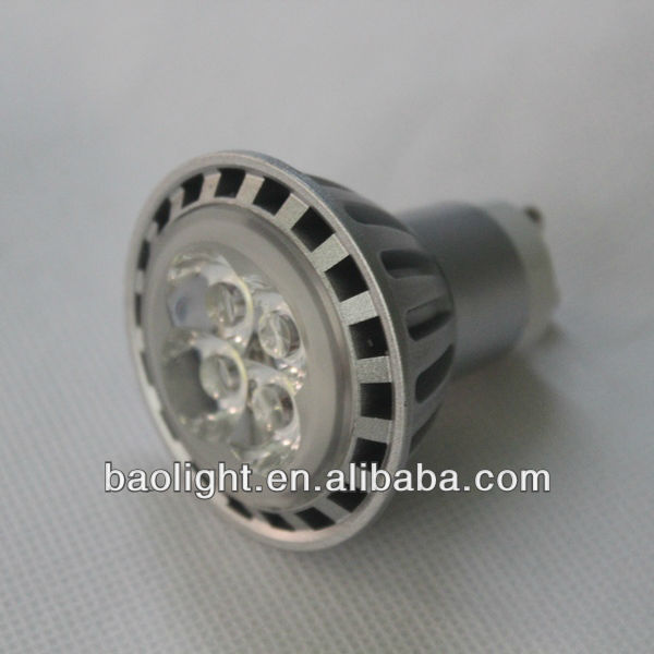 2013 new design 4w gu10 mr16 led spotlight