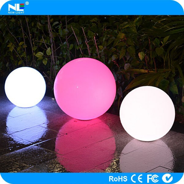 Party waterproof LED light ball / wedding battery LED light ball / outdoor decorative lighted balls