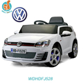 WDHDFJ528 New licensed ride on toy VW golf GTI kids battery powered, double door open, with mp3 port, 2.4G r/c
