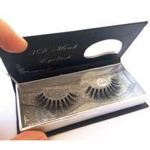 Feathery Shine Mink Eyelashes With Custom Boxes 3D Mink Lashes Real Horse Hairs False Eyelashes