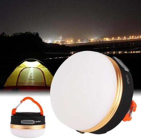 Camping Lantern Rechargeable Mini Power Bank 1800mAh LED Camping and Emergency Lantern