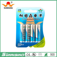 China alkaline batteries